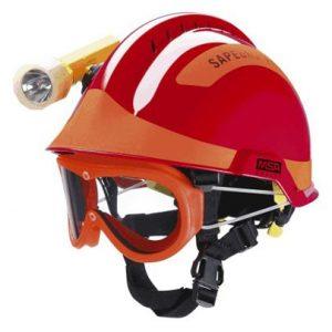 x-trem fire service helmet